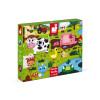 Tactile Puzzle Farm Animals 20 pieces